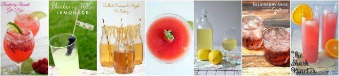 Cocktail slider