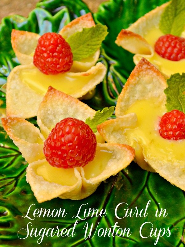 Lemon Lime Curd Cups