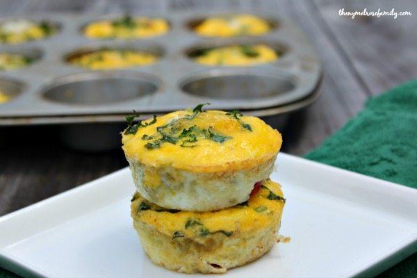Easy Veggie Egg Cups