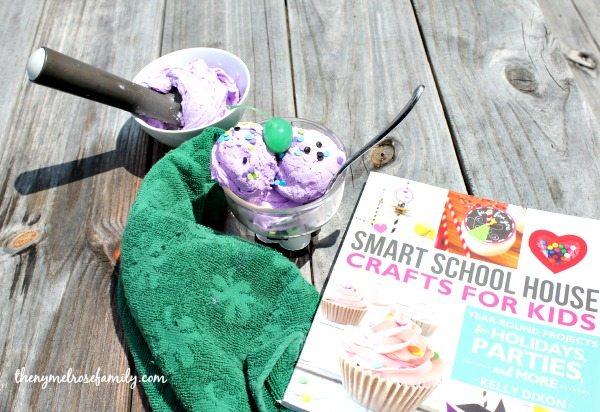 Ice Cream Playdough with Smart School House