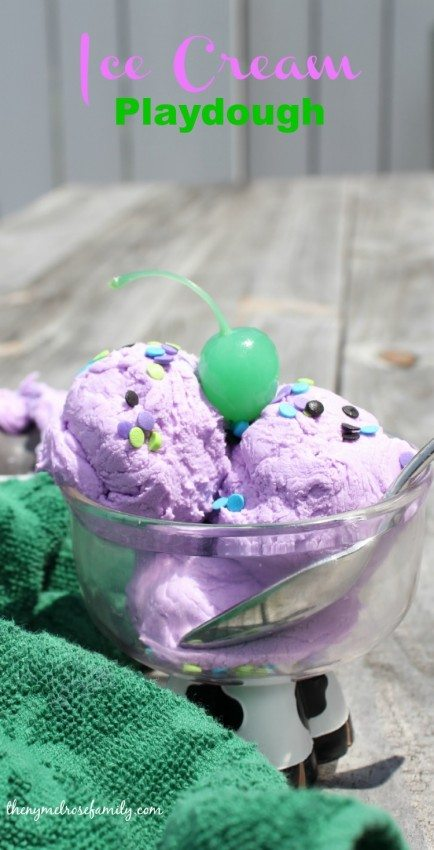 Ice Cream Playdough