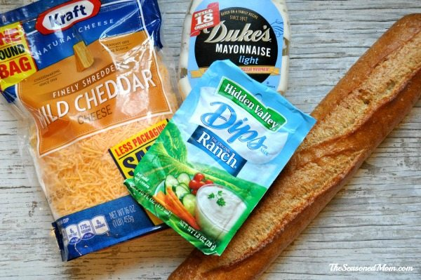 Ranch-Cheesy-Bread-Ingredients