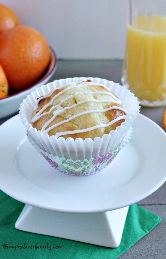 Orange Creamsicle Muffins with EOs