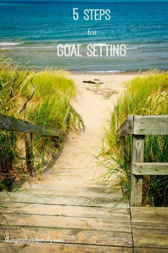 5 Steps for Goal Setting