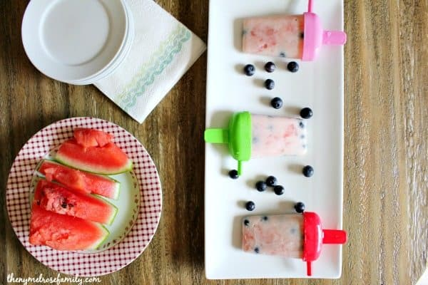 Watermelon Fruit Popsicles