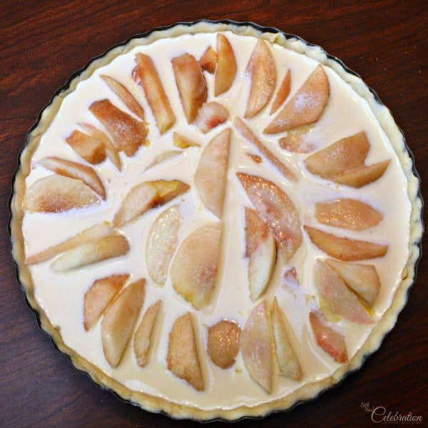 White Peach Dessert
