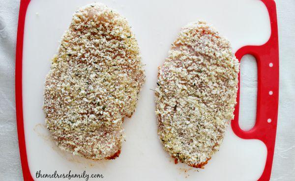 Chicken Parmesan Cutlets