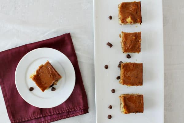 Pumpkin Pie Bars with Chocolate Chip Crust