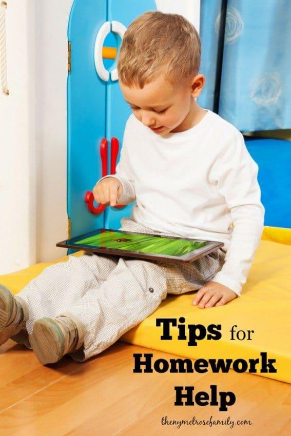 Tips for Homework Help