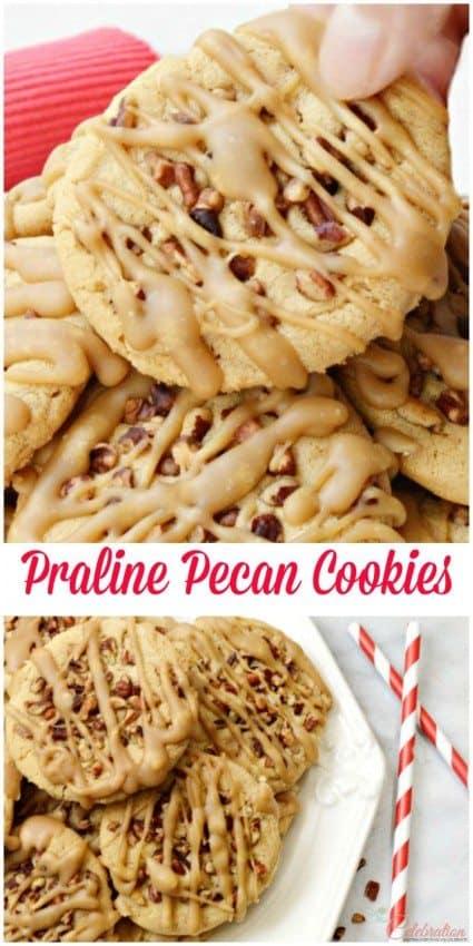 Pecan Praline Cookies Recipe — Dishmaps