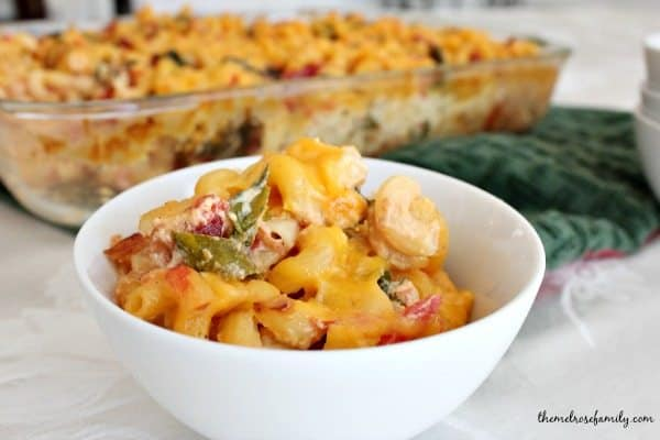 Bacon Ranch Pasta Casserole
