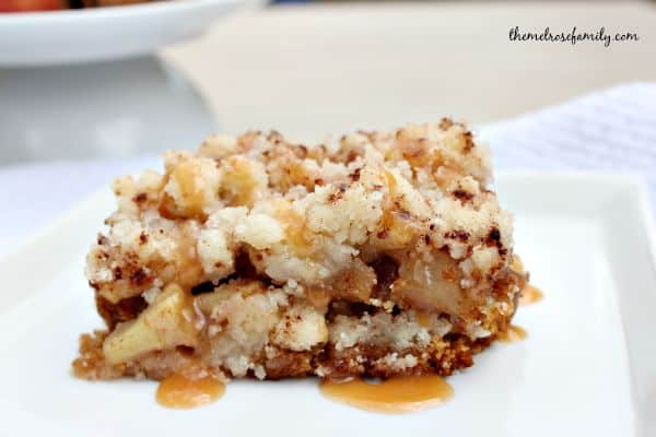 Caramel Apple Pie Bar Tradition