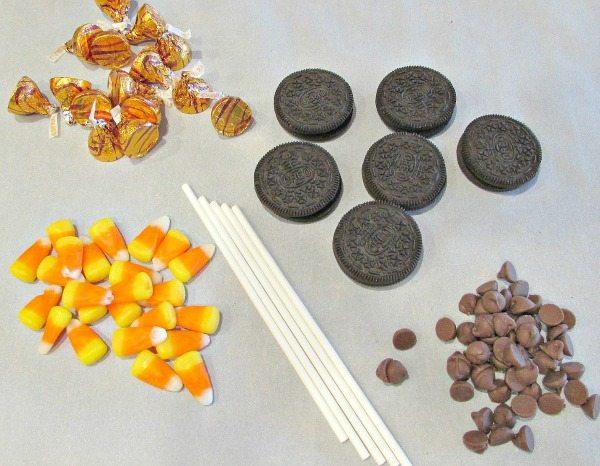 Turkey Tail Oreo Pops Ingredients