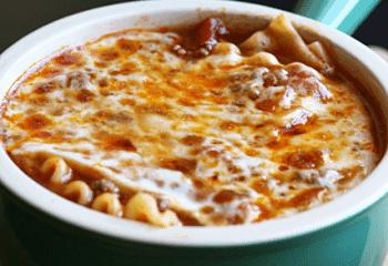 Lasagna Soup by Grace and Good Eats