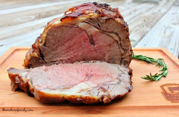 Herb & Garlic Crusted Beef Roast