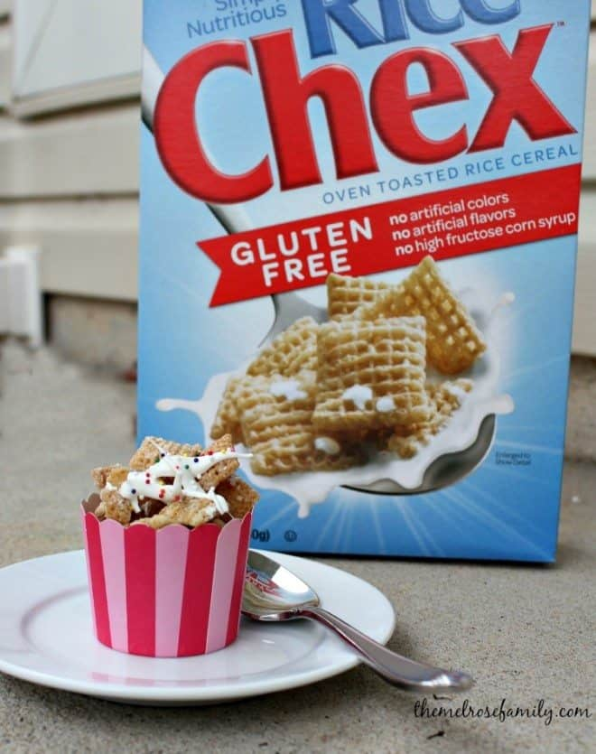 Sugar Cookie Chex Mix for every occasion