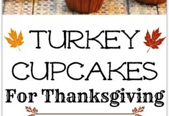 Thansgiving Turkey Cupcakes by Virtually Yours