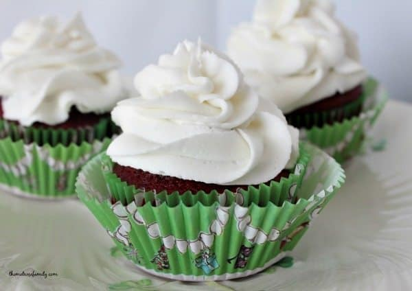 Chocolate Peppermint Cupcakes for Holidays