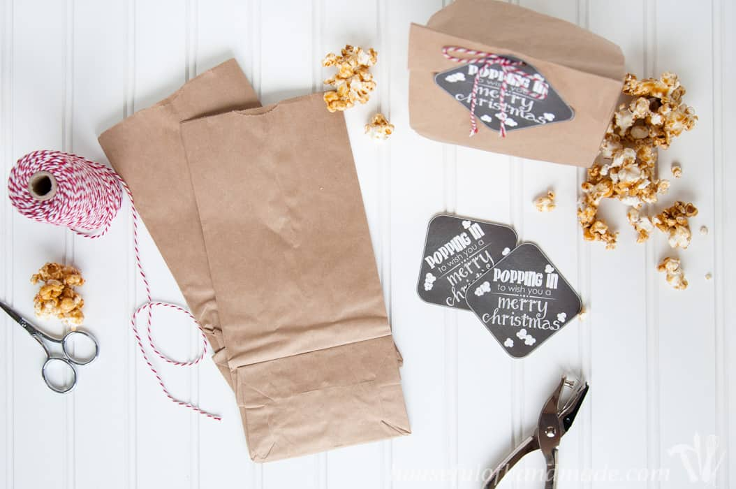 Christmas Printable Gift Tag Supplies