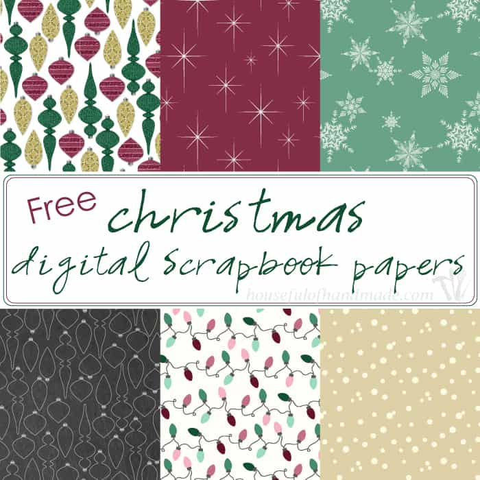Free-Christmas-Digital-Papers