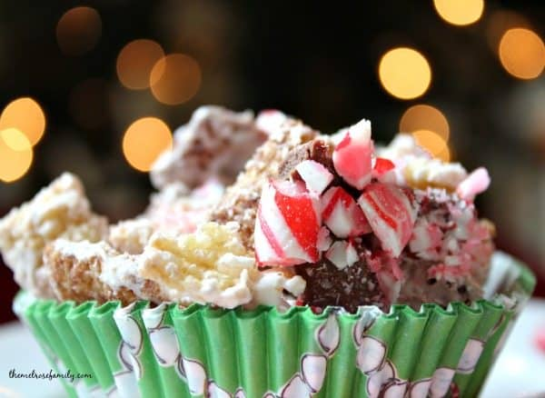Peppermint and Chocolate Chex Mix