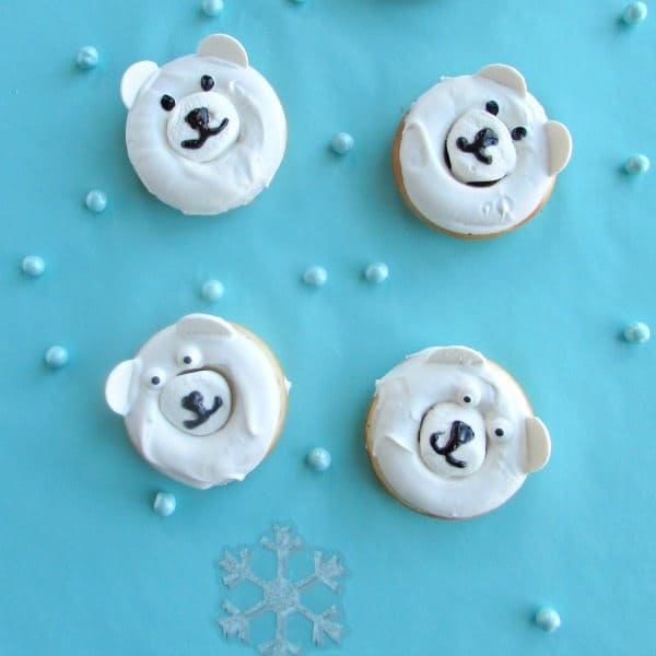 Polar Bear Donuts