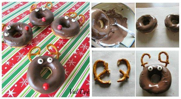 Reindeer Donuts Tutorial
