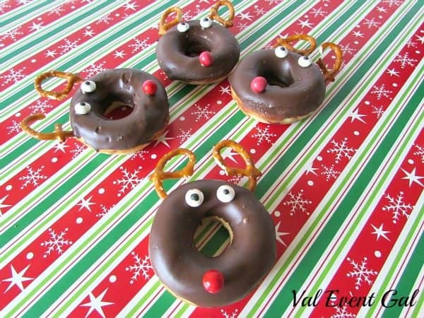 Reindeer Donuts for FB