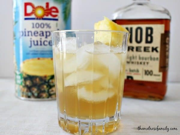 Bourbon Pineapple with Dole Juice