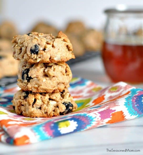 Healthy Trail Mix Cookies Dessert
