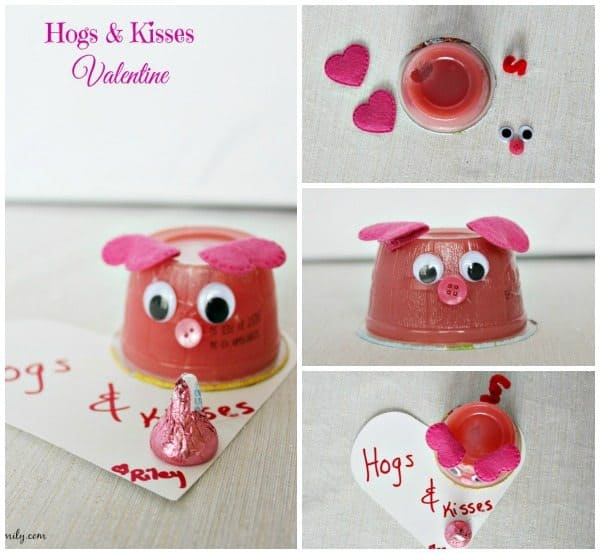 Hogs & Kisses Valentine fb