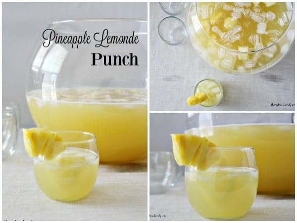 Pineapple Lemonade Punch fb