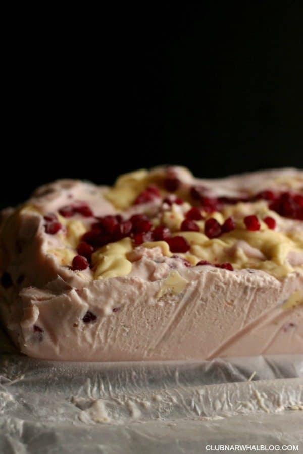 Pomegranate Frozen Yogurt Skinny Dessert