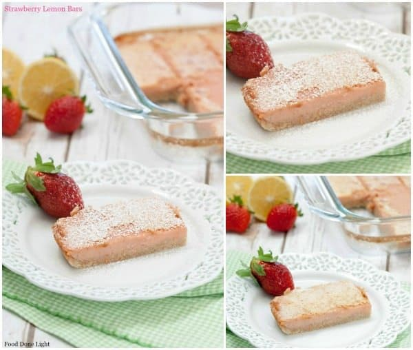 Strawberry Lemon Bars fb