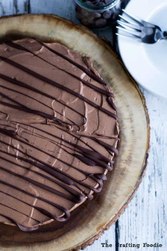 Vegan Chocolate Mousse Cake dessert