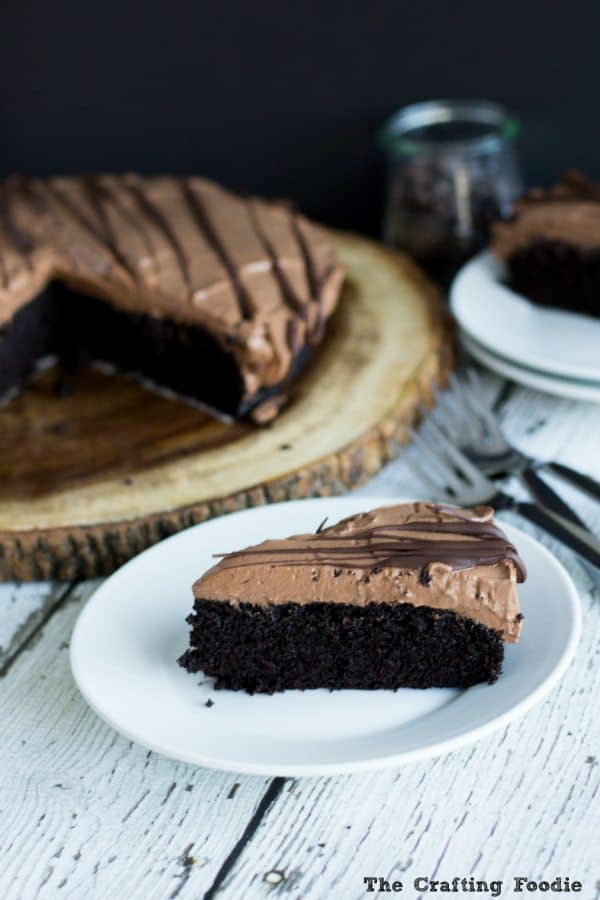 Vegan Chocolate Mousse Cake healthier