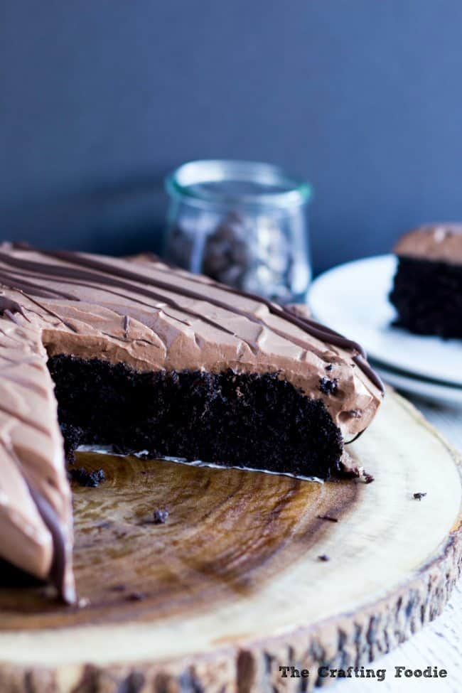 Vegan Chocolate Mousse Cake nut free