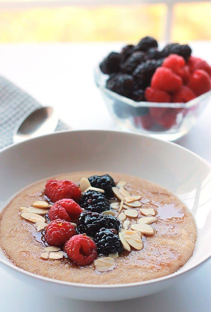 Cinnamon Amaranth with Berries by The Whole Serving
