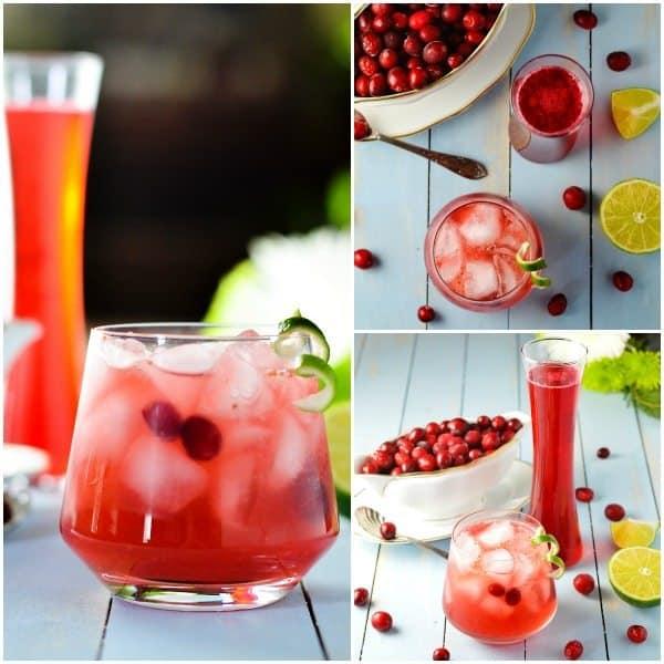 Cranberry Caipirinha fb