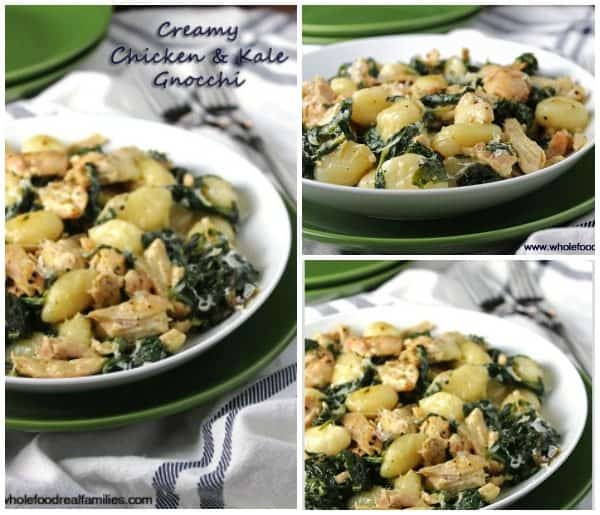 Creamy Chicken & Kale Gnocchi FB