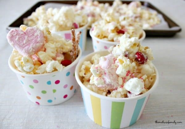 Love Bug Popcorn Snack Idea