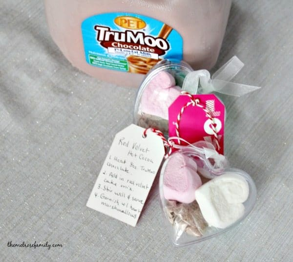 Red Velvet Hot Chocolate Gift with TruMoo