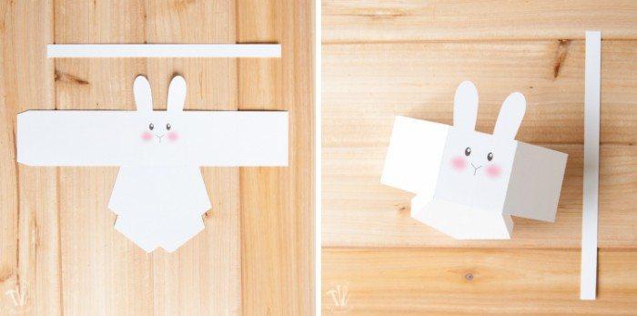 Free Bunny Basket Template