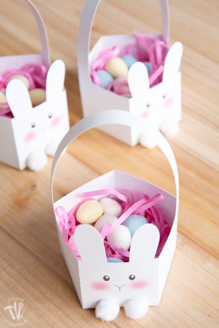 Free Printable Bunny Baskets