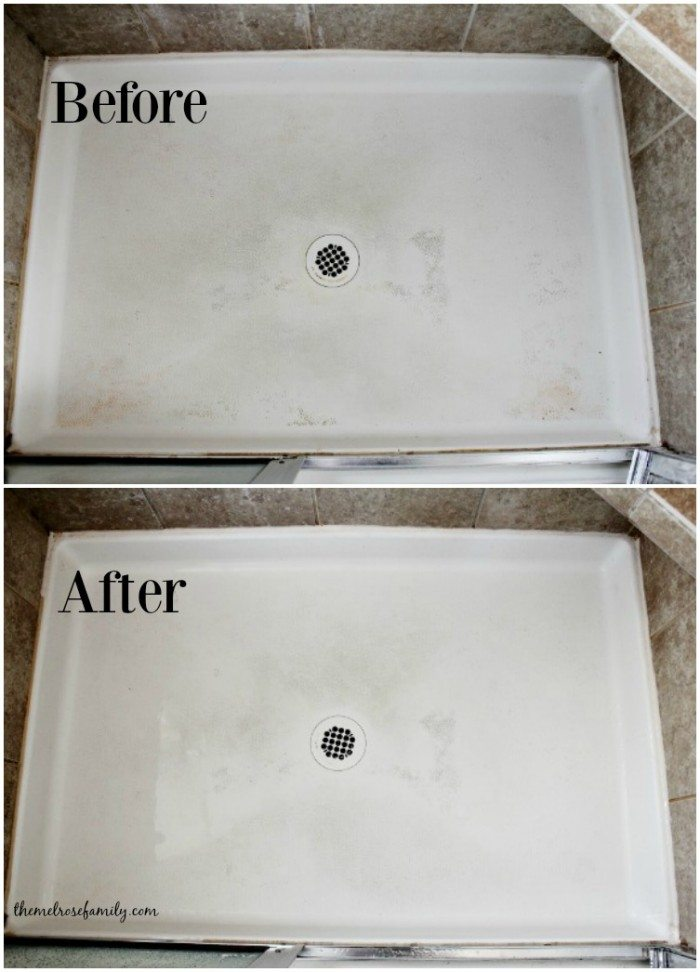 How to Clean Shower before and after
