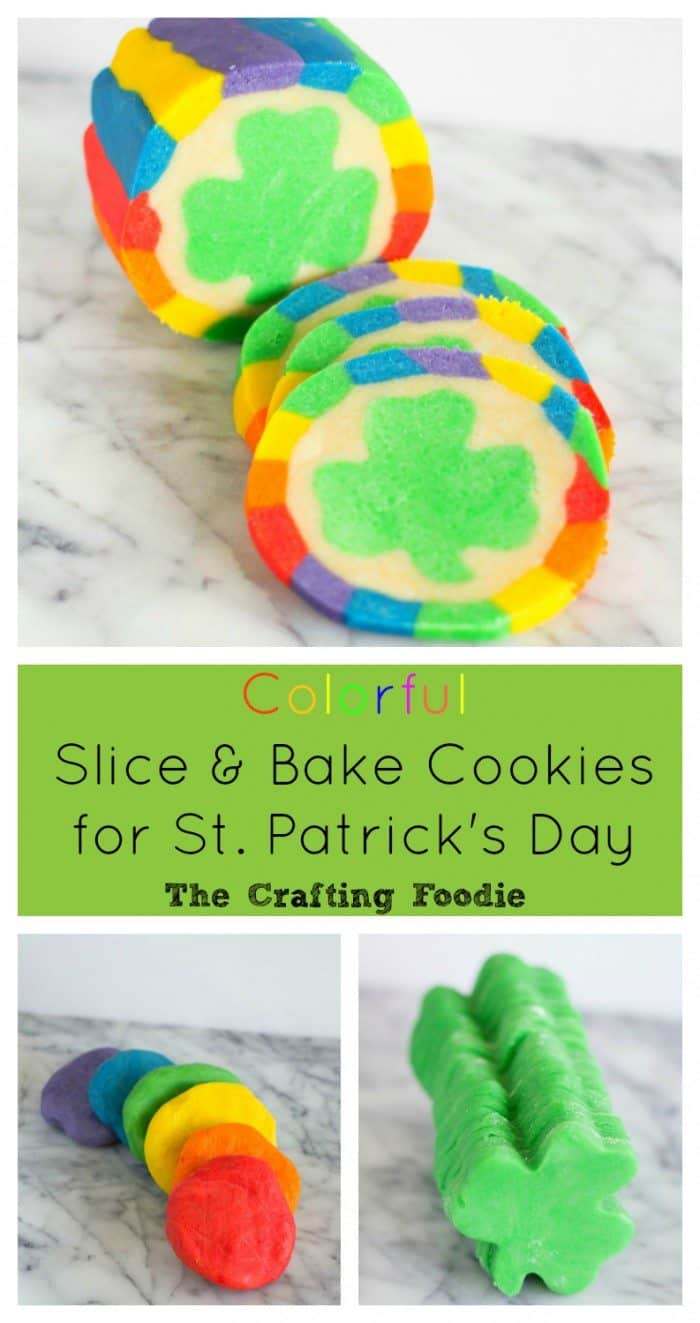 Looking for the perfect St. Patrick's Day treat? These colorful, slice and bake St. Patrick's Day cookies are sure to wow anyone.