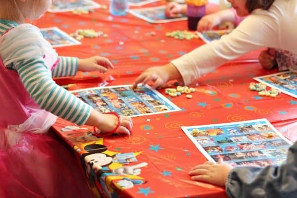 Preschool Playdates Bingo