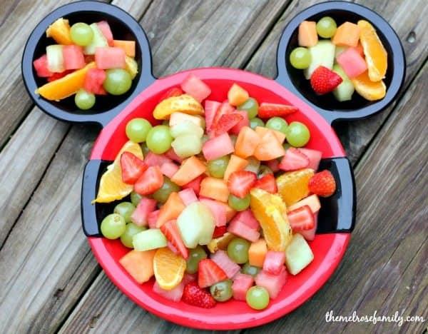Preschool Playdates Mickey Mouse Fruit Salad