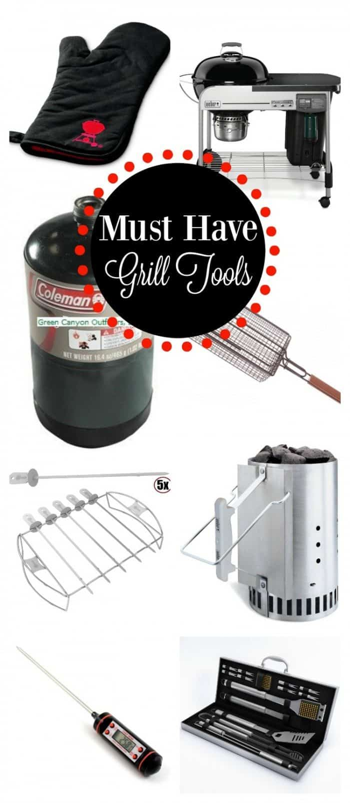 Does the warm weather have you itching to grill We put together our Must Have Grill Tools to make it the best grill season ever.