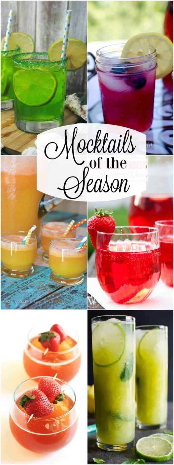 In need of the perfect refreshing beverage without the alcohol. These are the Mocktails of the Season that are sure to set the mood of the season.